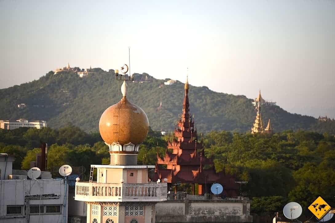 Myanmar Religion Moschee