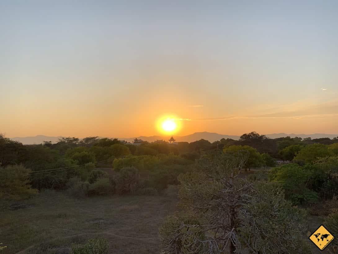 Myanmar Sunset Bagan