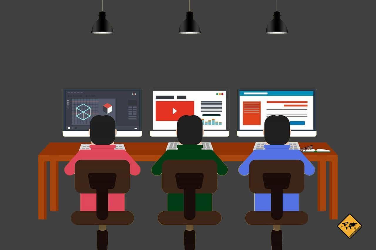 Mythos Coworking Space ortsunabhängig arbeiten