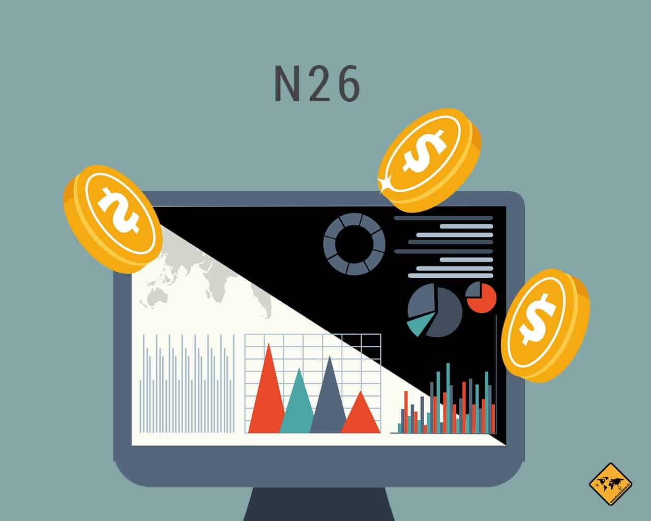 N26 Bankkonto Kreditkarte digitale Nomaden
