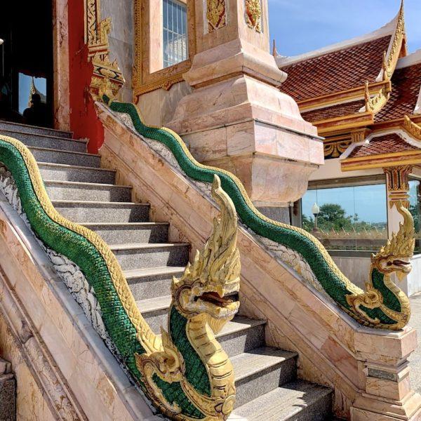 Naga-Treppe Wat Chalong