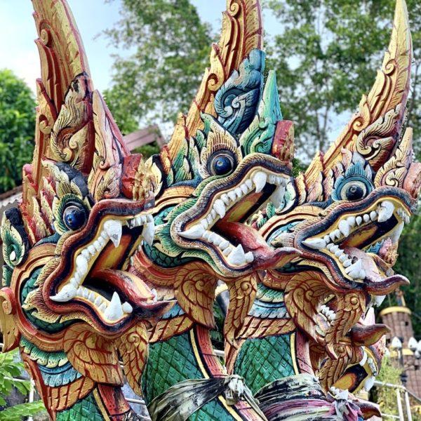 Nagas Wat Khao Rang Samakkhitham Phuket Stadt