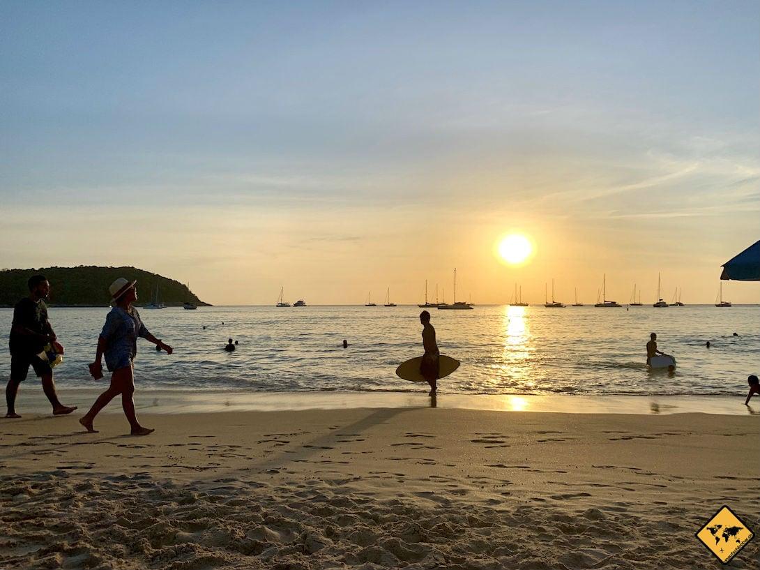 Nai Harn Beach Phuket Surfer