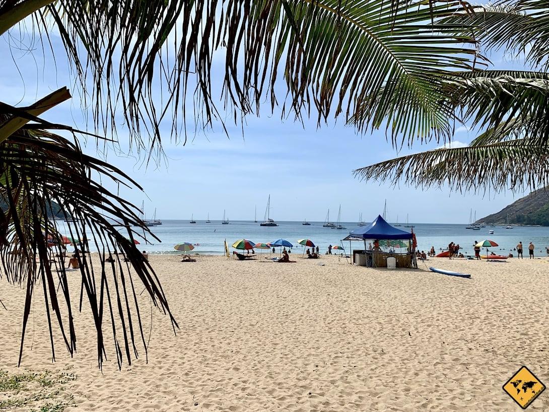 Nai Harn Beach Phuket weitläufig