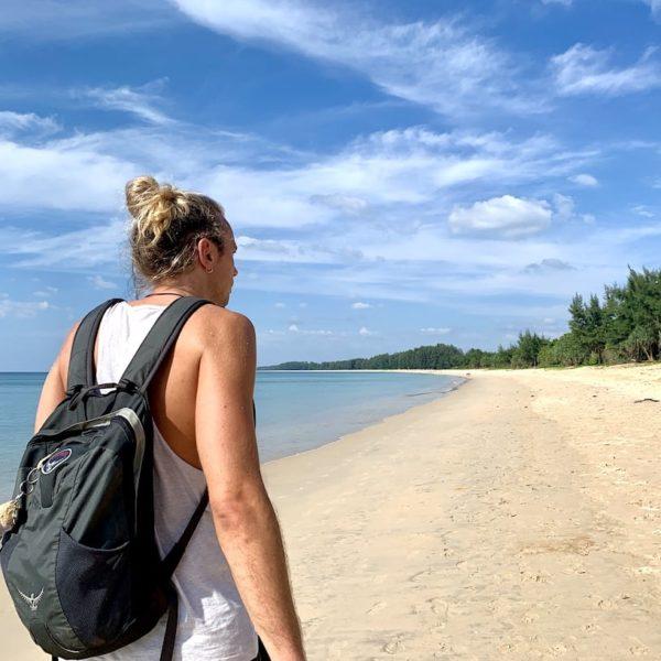 Nai Yang Beach Phuket Strandspaziergang