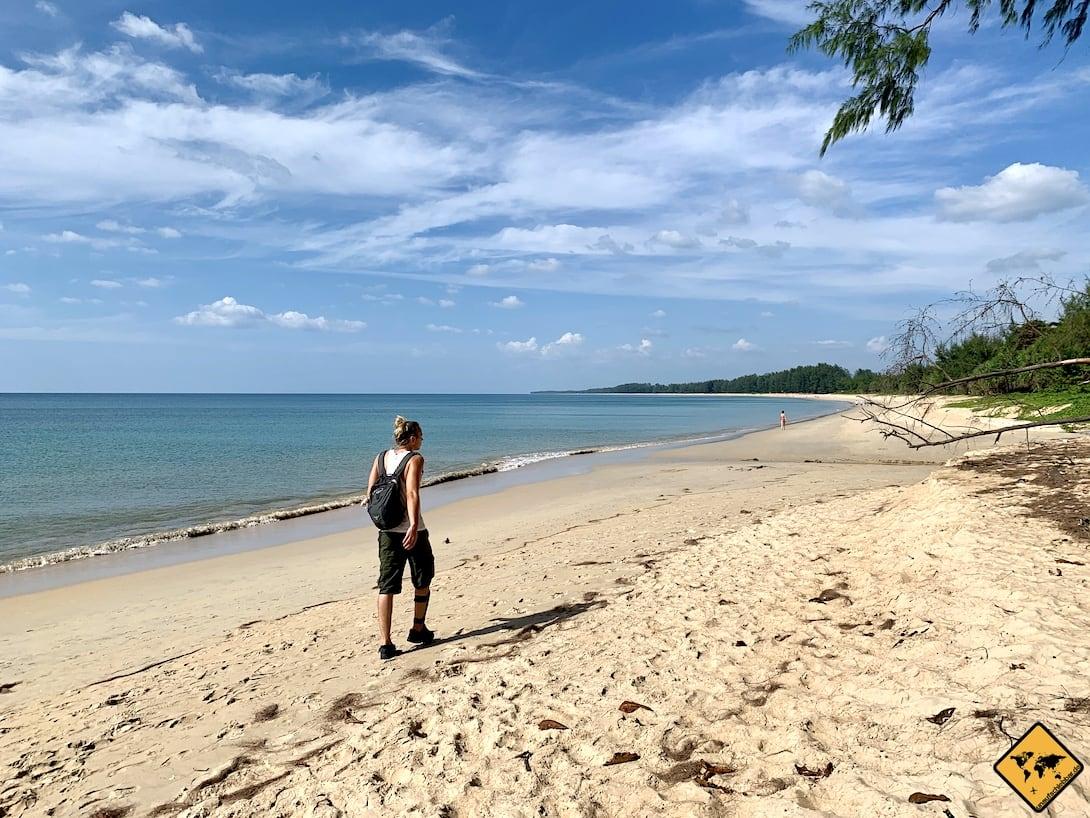 Nai Yang Beach Phuket naturbelassen