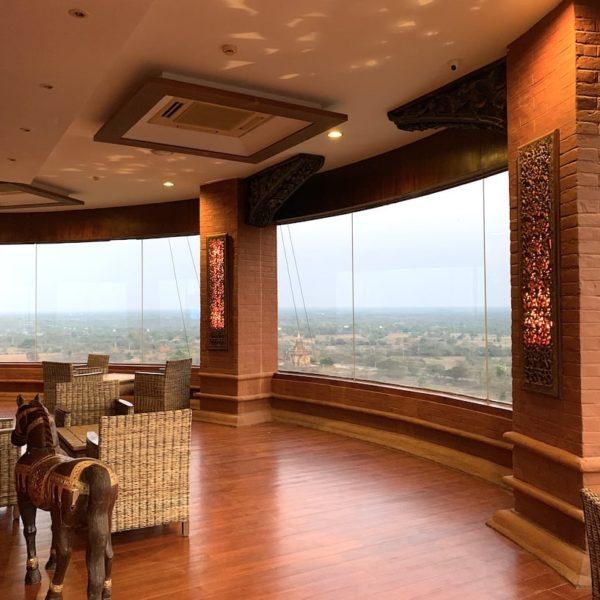 Nan Myint Tower Innenbereich Bagan Myanmar