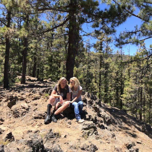Nationalpark Teide Mirador de Los Poleos