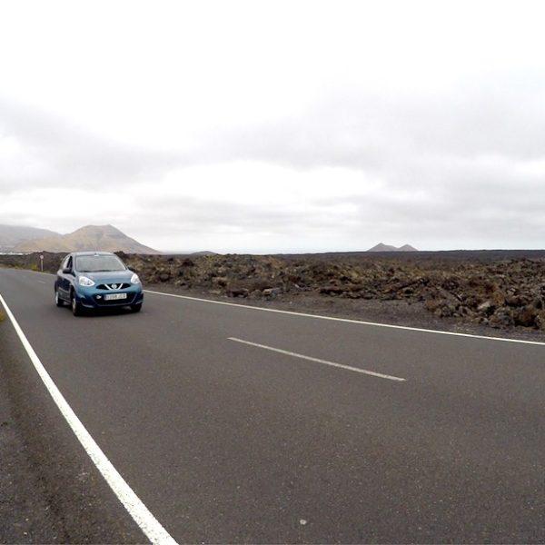 Der Nationalpark Timanfaya ist mit dem Auto gut und einfach befahrbar