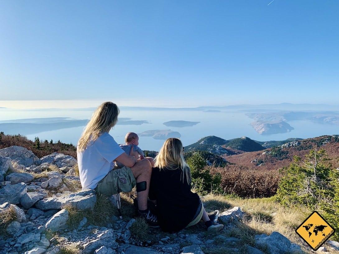 Nationalpark nördlicher Velebit Ausblick Zavižan
