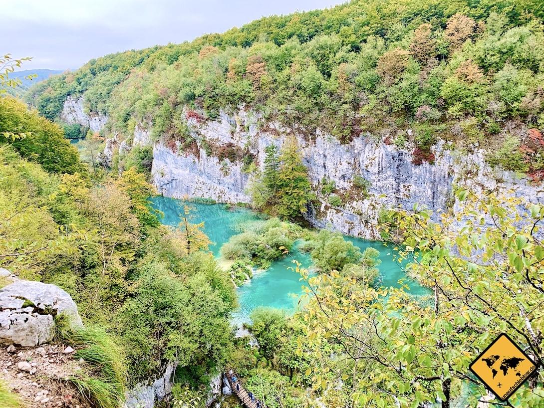 Natur Kroatien Plitvicer Seen