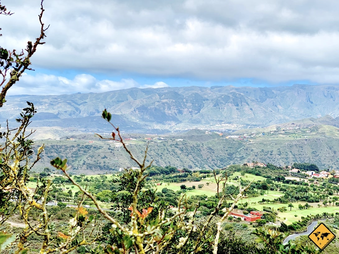 Naturpark Bandama Ausblick Gran Canaria