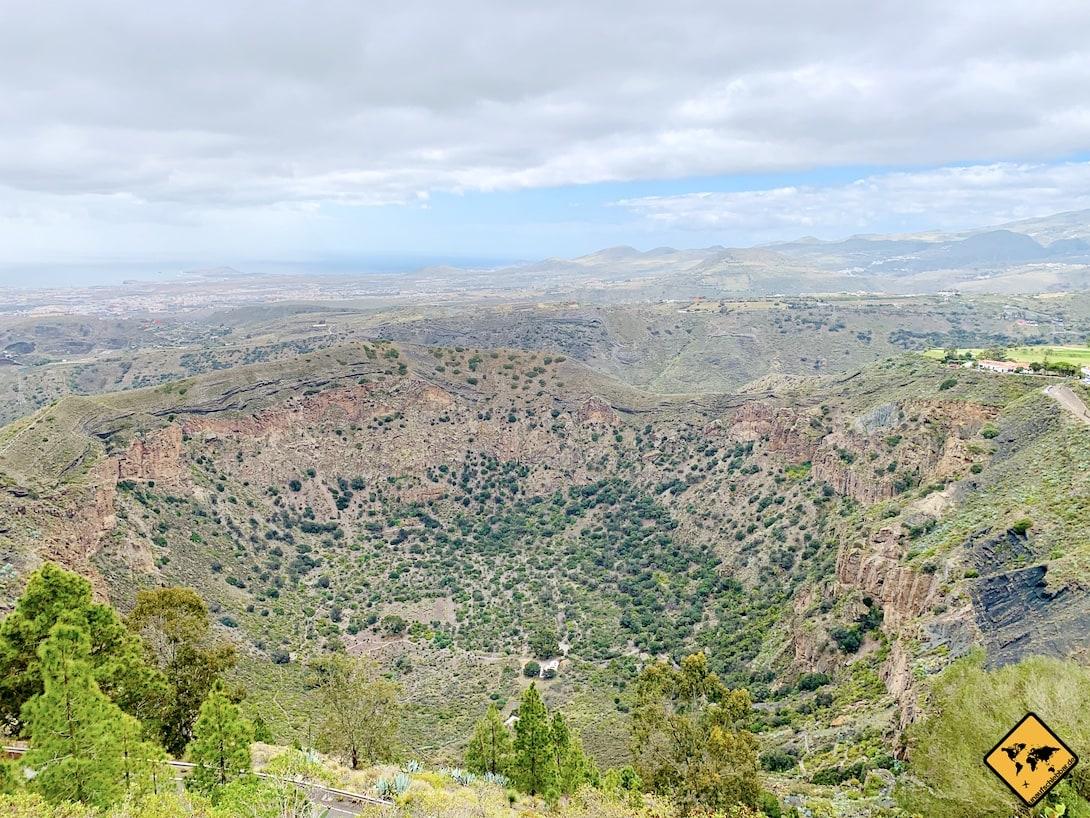Naturpark Bandama Ausflugsziel Gran Canaria