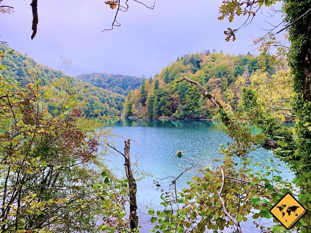 Nebensaison Oktober Plitvicer Seen