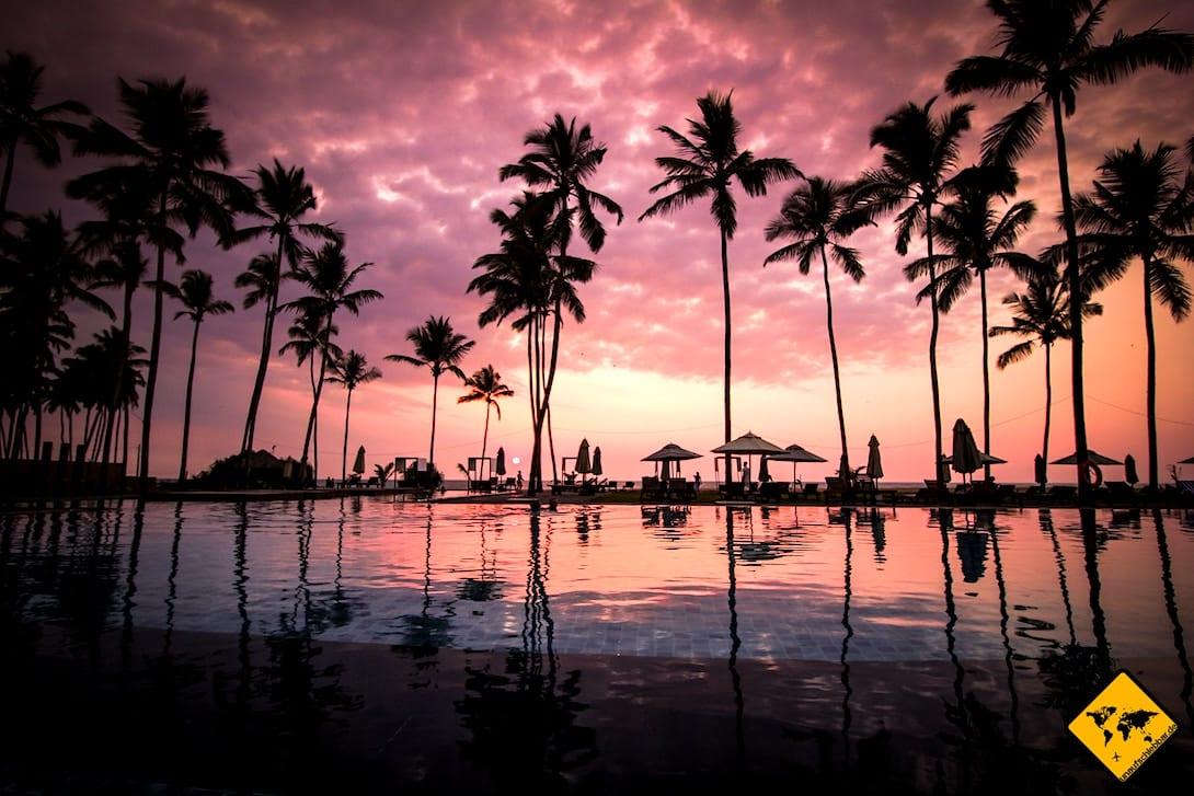 Negombo Heritance Hotel Pool
