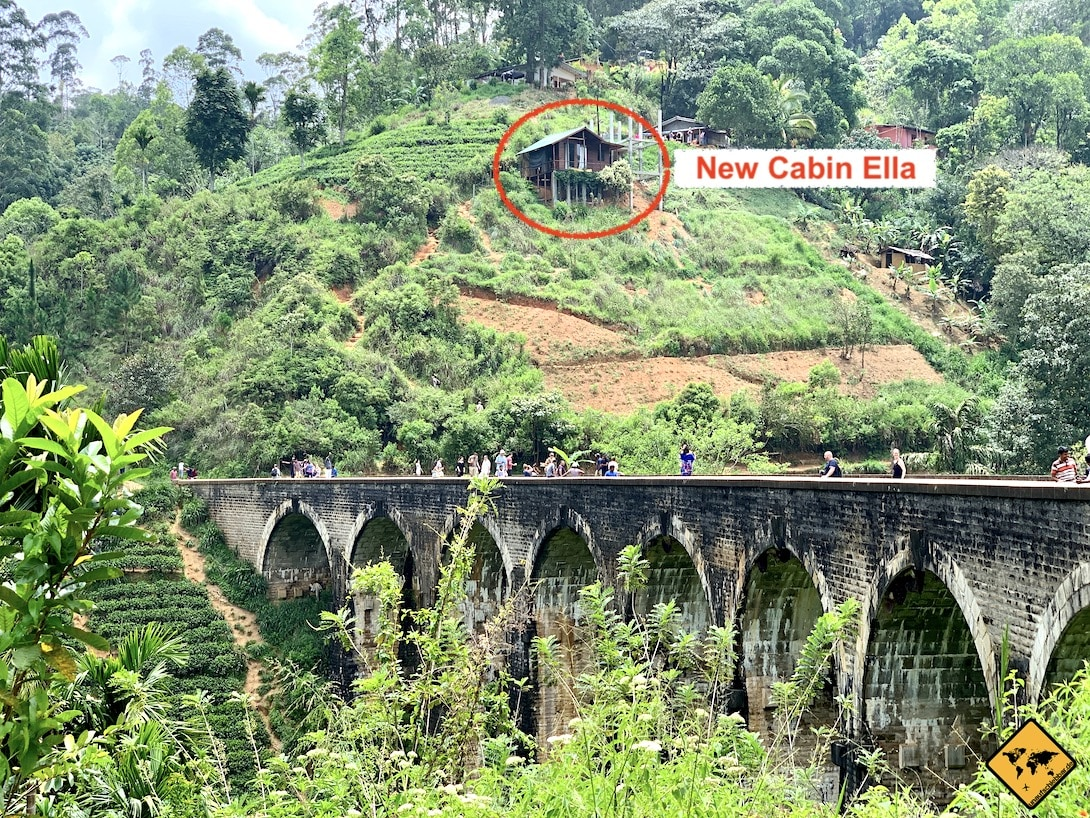 New Cabin Ella Nine Arches Bridge