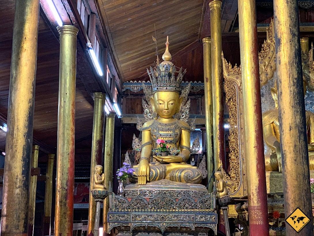 Nga Phe Kyaung Kloster Inle See Sehenswürdigkeiten