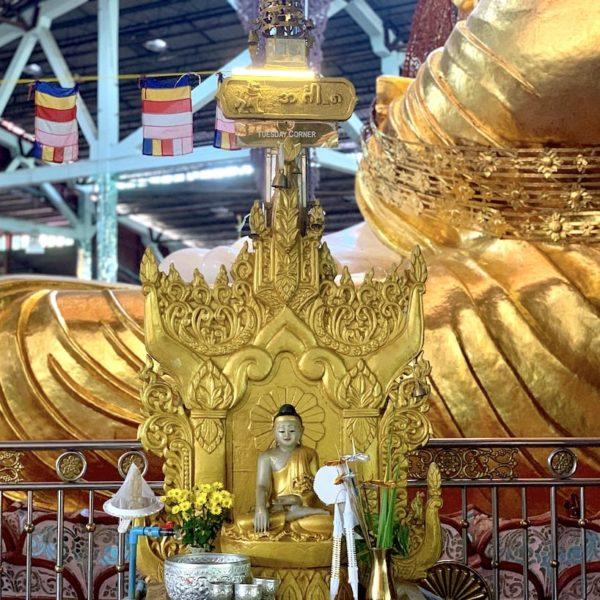 Ngar Htat Gyi Pagode Yangon Wochentags-Buddha