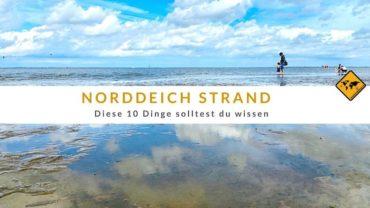 Norddeich Strand – diese 10 Dinge solltest du wissen