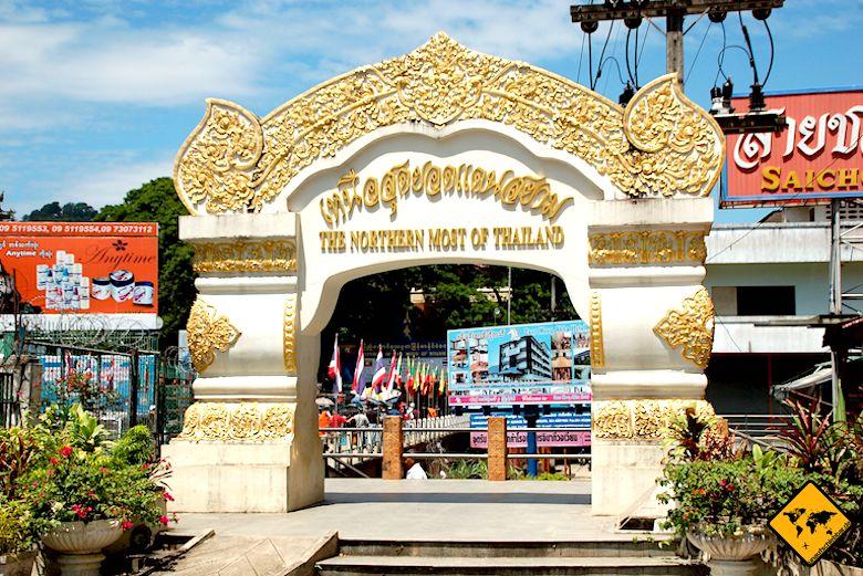 Nordthailand Mae Sai