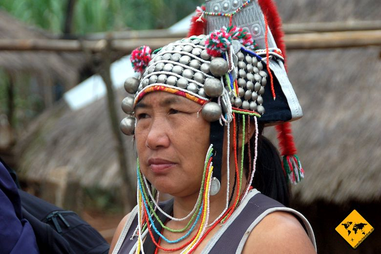 Nordthailand Rundreise Akha Tribe