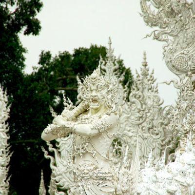 Nordthailand Rundreise Chiang Rai Wat Rong Khun