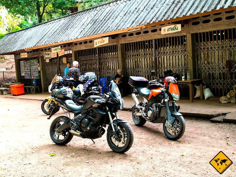 Nordthailand Rundreise Motorrad
