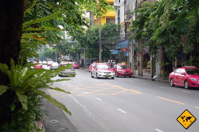 Nordthailand Rundreise Taxi