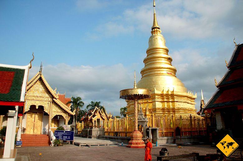 Nordthailand Rundreise Wat Phra That Doi Suthep Chiang Mai