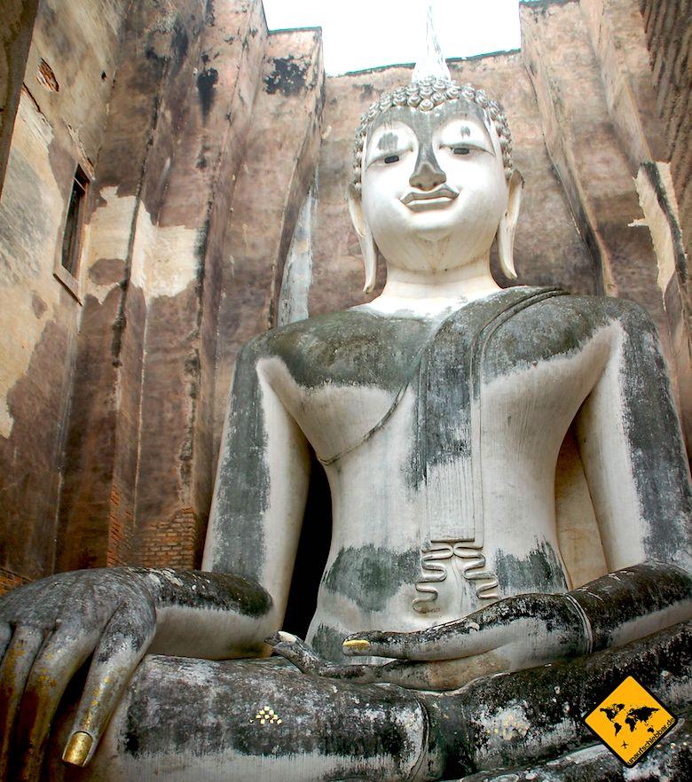 Nordthailand Rundreise Wat Sri Chum Sukhothai