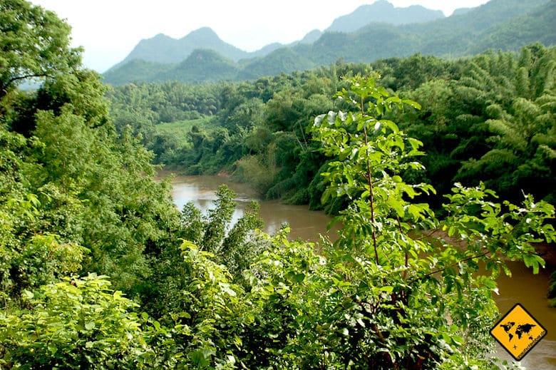 Nordthailand Rundreise grüne Natur