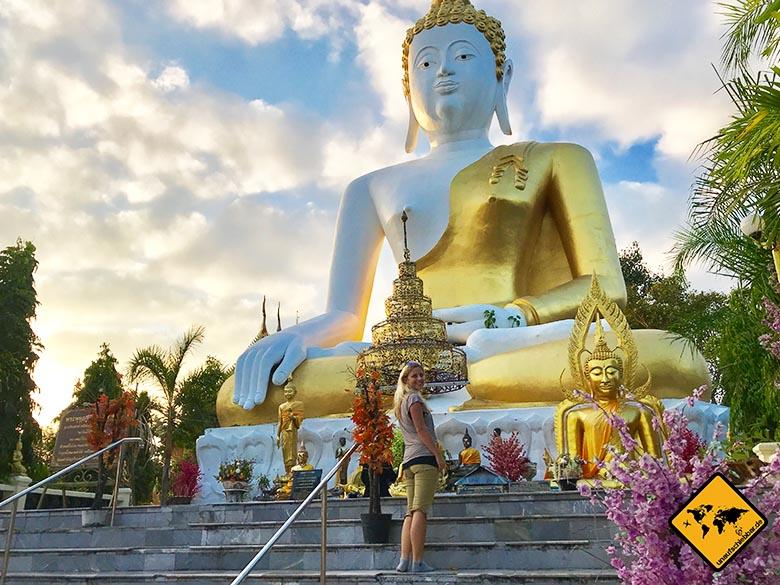 Nordthailand Wat Phra That Doi Kham Chiang Mai