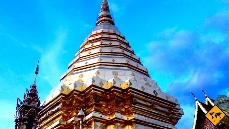 Nordthailand Wat Phra That Doi Suthep Chedi