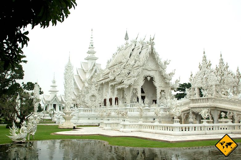Nordthailand Wat Rong Khun Chiang Rai