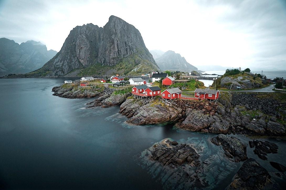 Norwegen Lofoten Drehort Nordwärts Film