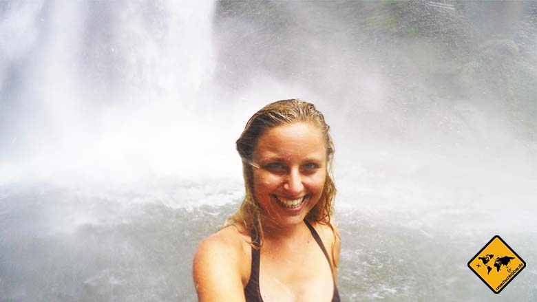 Nungnung Waterfall Bali GoPro
