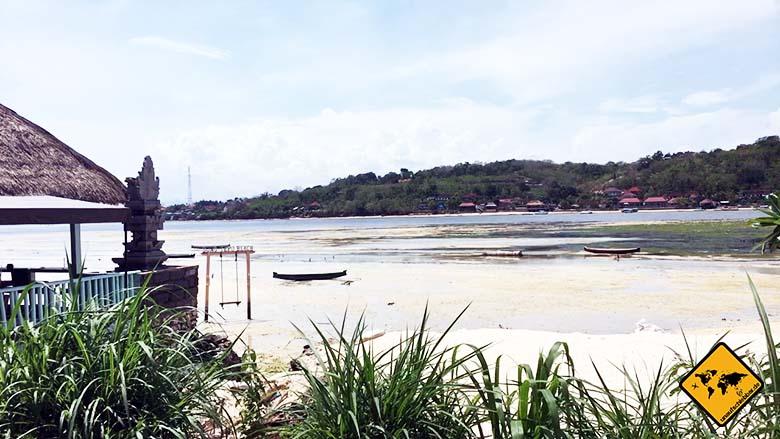 Nusa Ceningan Strand Cafes