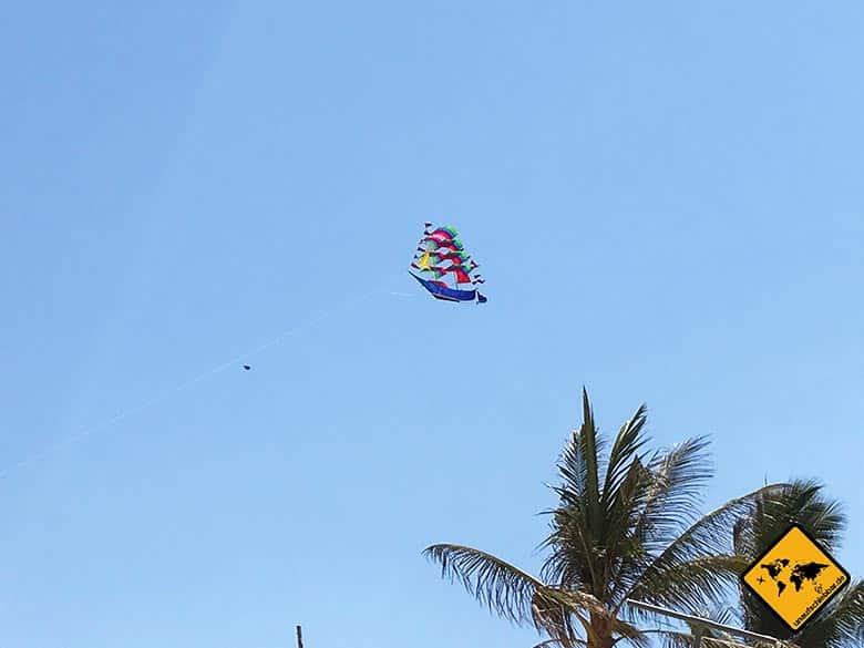 Nusa Dua Beach Bali Drachen