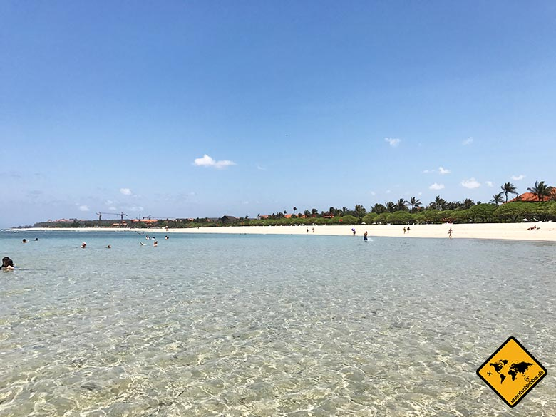 Nusa Dua Beach Bali Strandblick