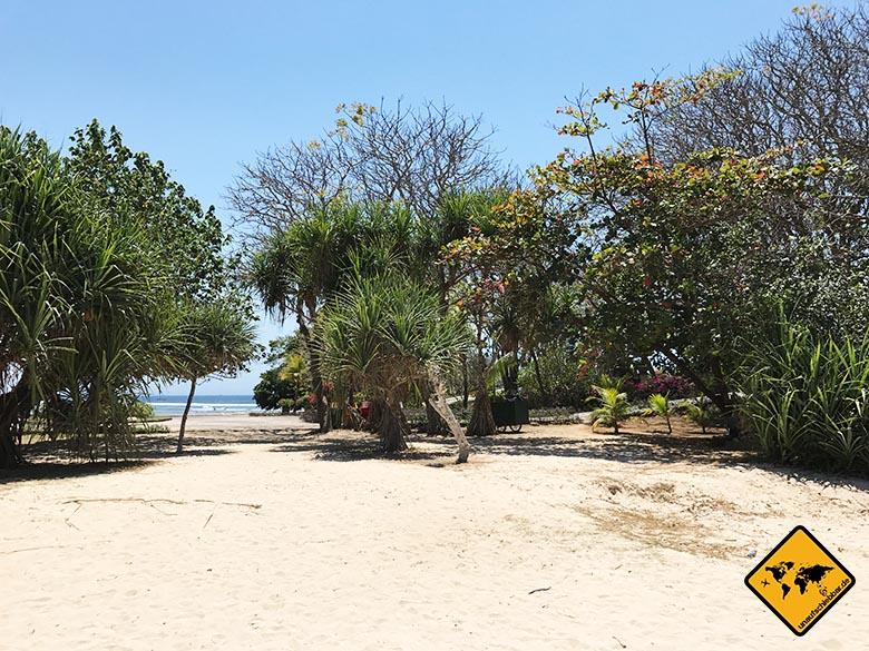Nusa Dua Beach Bali Zugang