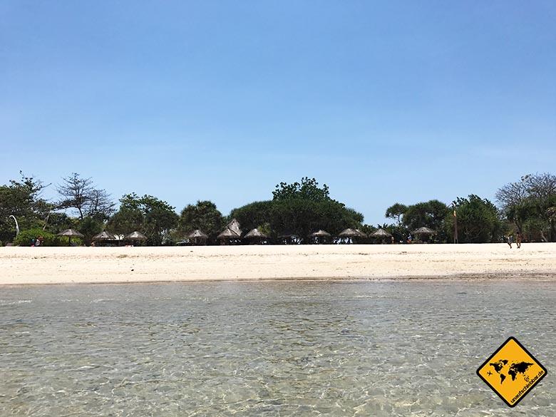 Nusa Dua Beach Bali ohne Hotels