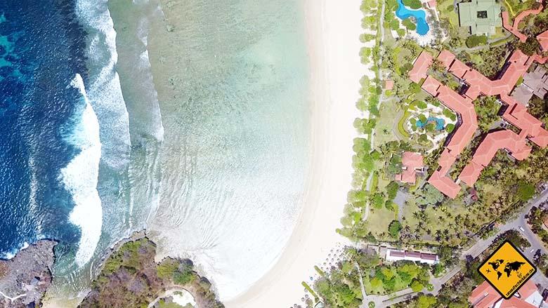 Nusa Dua Beach Bali südlicher Teil