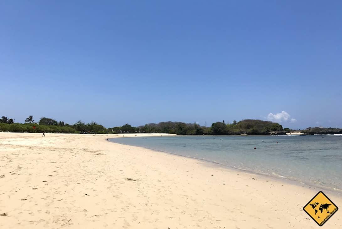 Nusa Dua Beach müllfrei