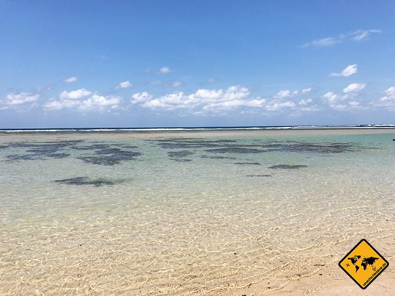 Nusa Dua Strand Naturpool
