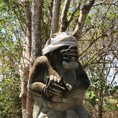 Nusa Dua Waterblow Park Skulptur