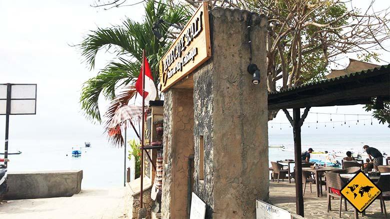 Nusa Lembongan Anreise Toiletten Mushroom Beach