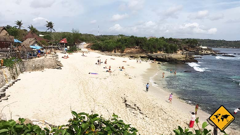 Nusa Lembongan Dream Beach breit