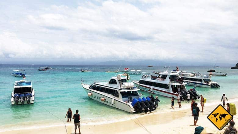 Nusa Lembongan Island Mushroom Beach