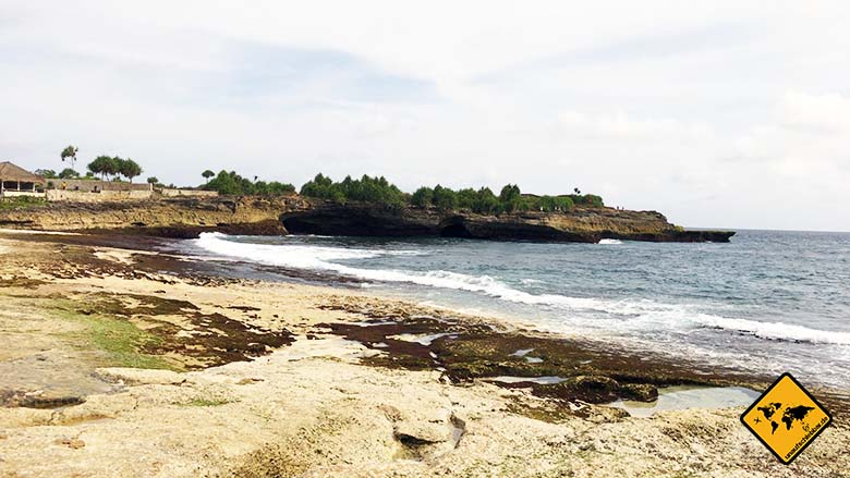 Nusa Lembongan Strand Sunset Beach