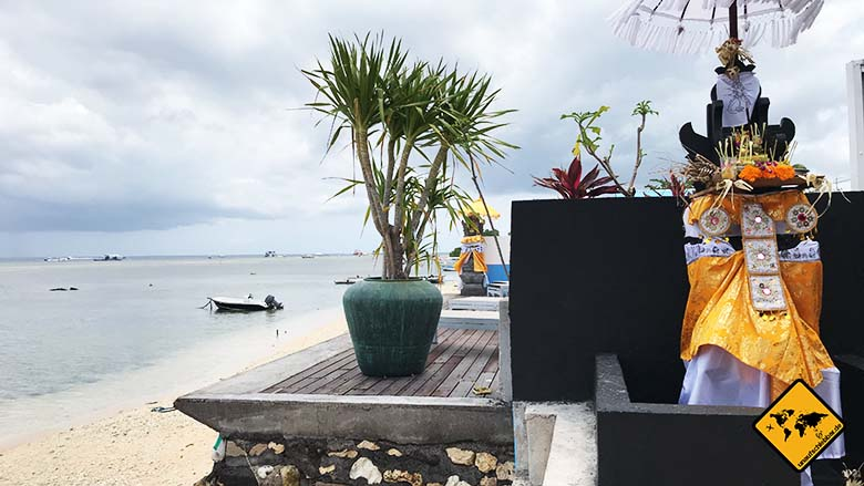 Nusa Lembongan Strand Warung Meer